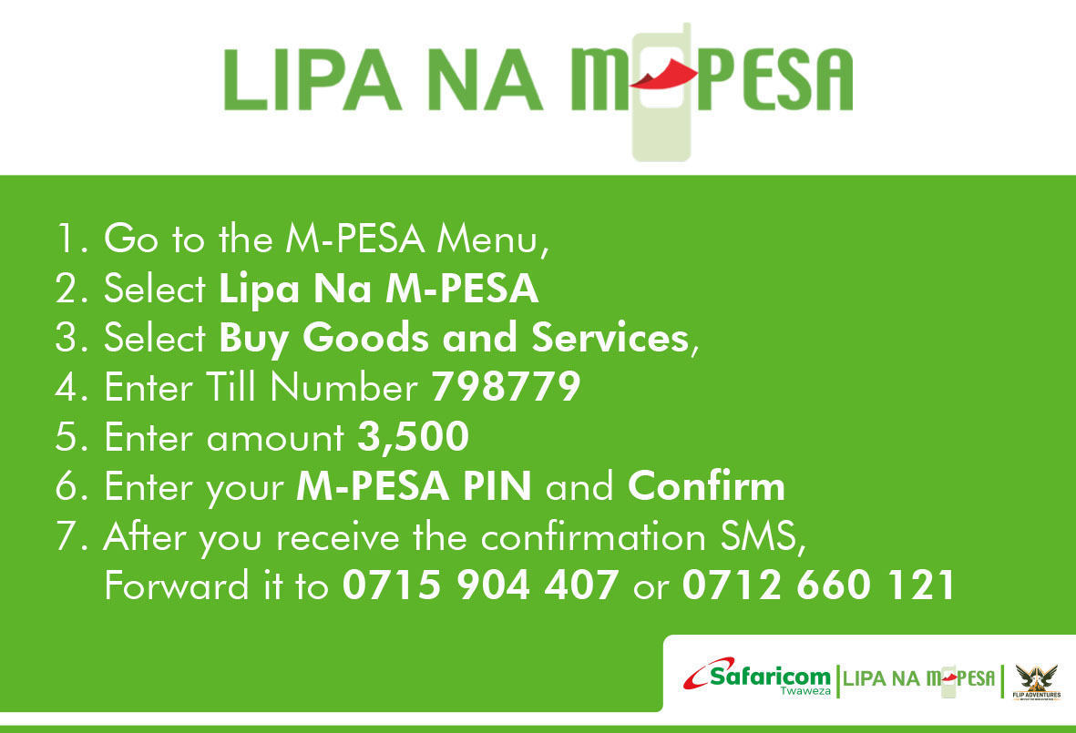 How to pay for the Ol Pejeta Conservancy Trip