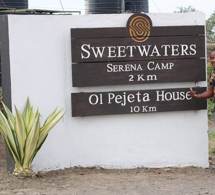 The Sweetwaters Serena Camp at Ol Pejeta Conservancy