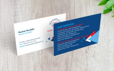 Get Quality Business Card Design & Printing for 10 Bob in Nairobi Kenya