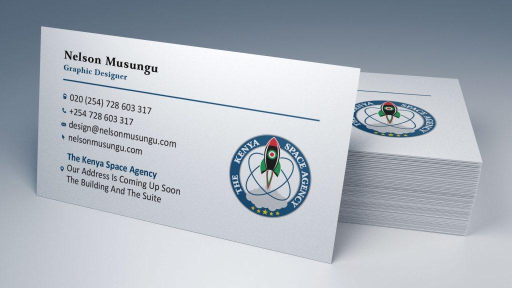 Quality Business Card Design & Printing for 10 Bob in Nairobi Kenya